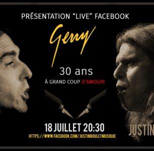 Présentation Gerry 30 ans À grand coup d'amour